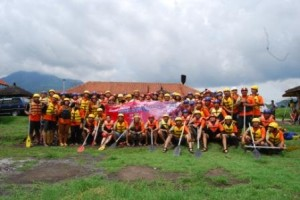 Base camp Batu Rafting